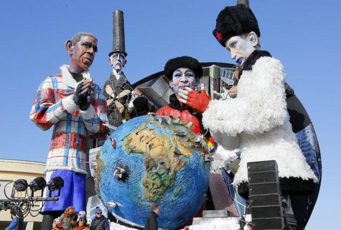 карнавалы в феврале