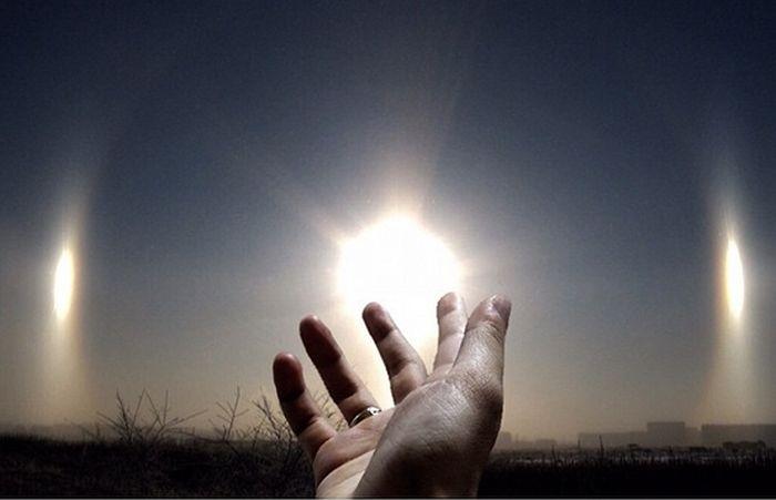В небе над Челябинском появилось сразу три светила