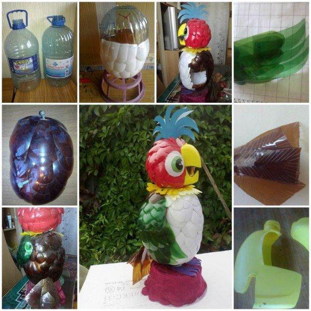 Пошаговая поделки из пластиковых бутылок