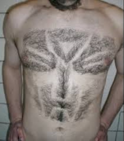 Необычный подход к проблеме волос на человеческом теле