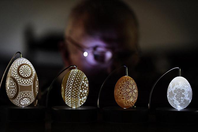 Искусство росписи пасхальных яиц из Словении