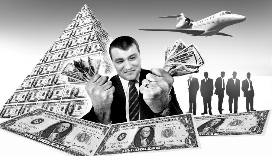 отмывание денег в США