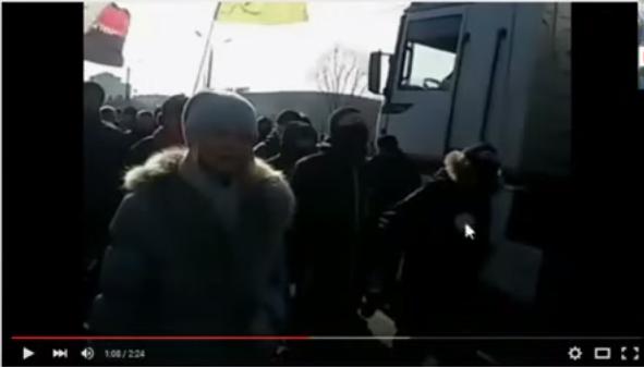 Данила Дидык на марше в Харькове 22 02 15