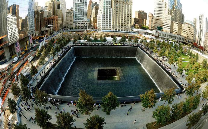 мемориал трагедии 11 сентября