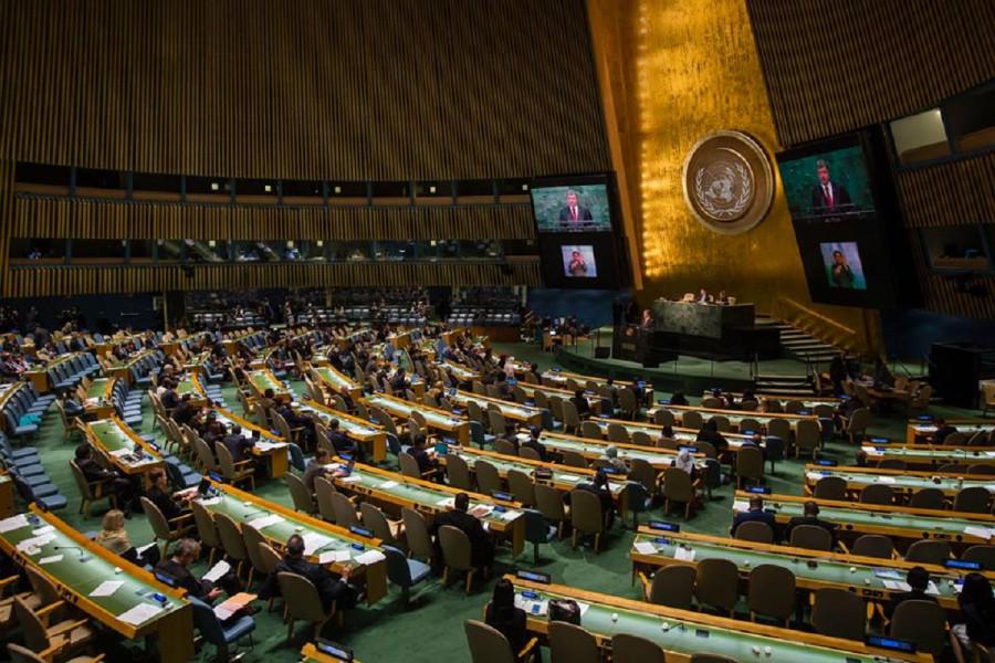 Ложь на ГенАссамблее ООН