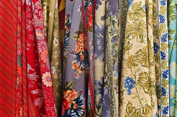 индийские и китайские ткани