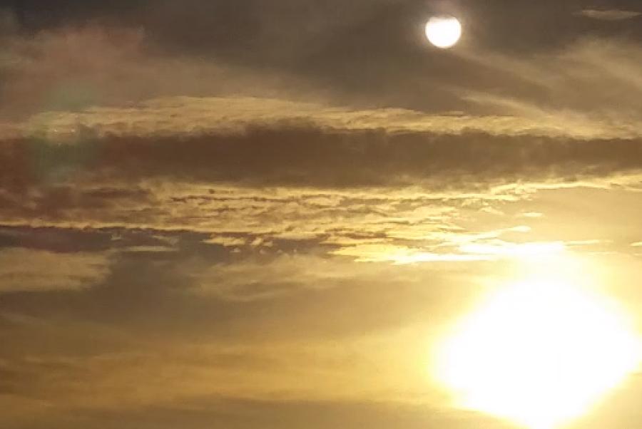 что это в небе над Флоридой
