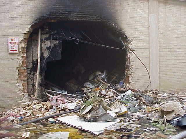 фото разрушенного пентагона