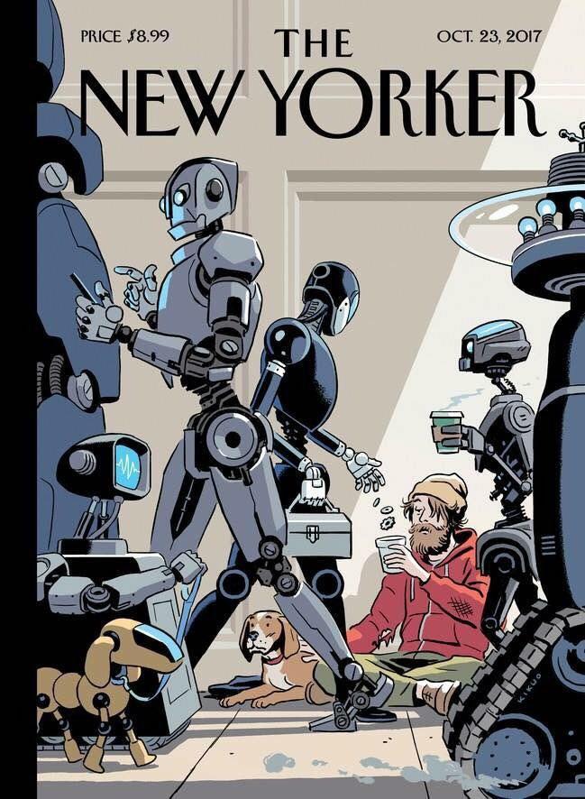 обложка нового номера Нью Йоркера