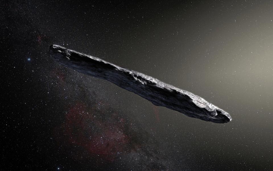 Ее искали 7 лет, но нашли только сейчас Oumuamua