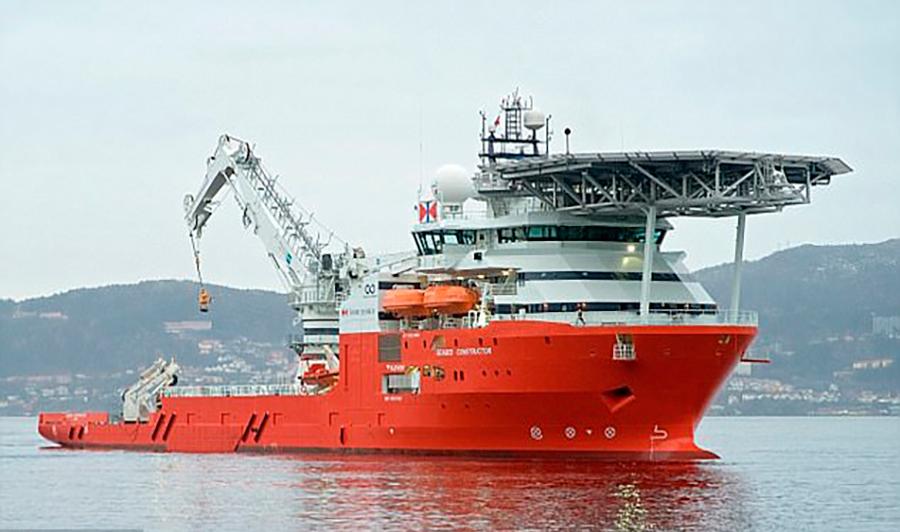 поисковое судно Seabed Constructor