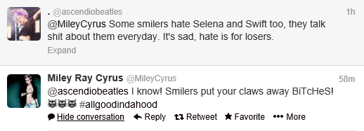 Miley Twitter 3