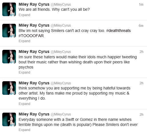 Miley Twitter 4