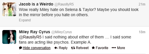 Miley Twitter 5