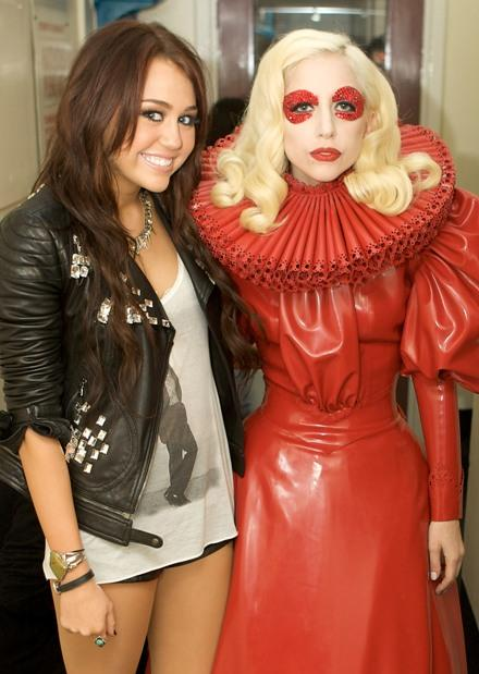 Miley and Gaga