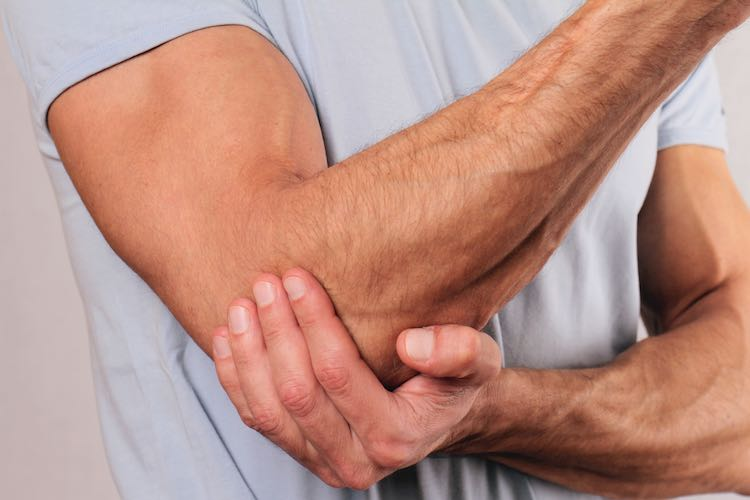 What is Manual therapy for tennis elbow?