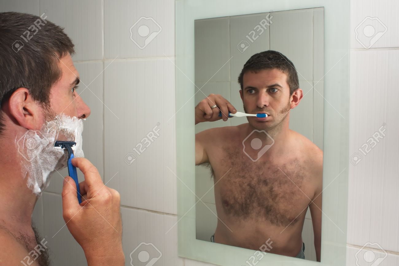 shaving-and-brushing
