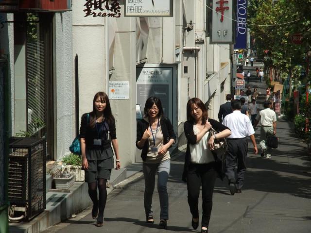 Япония. Прогулки по Токио. Роппонги