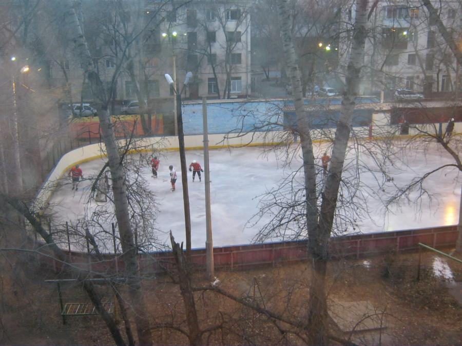 зимний вид из моего окна