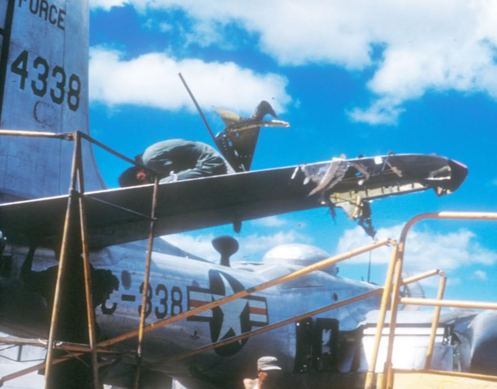 B-26C-damage-repair-Korea