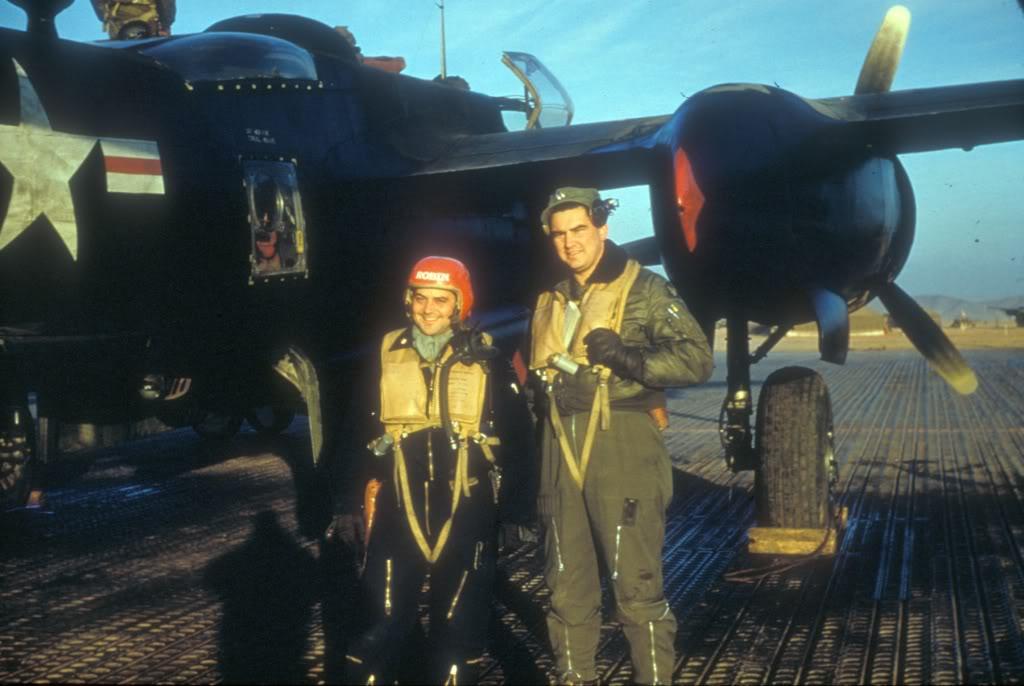 B-26C-MajRobertFortneyandCaptBobDorbacker-Korea