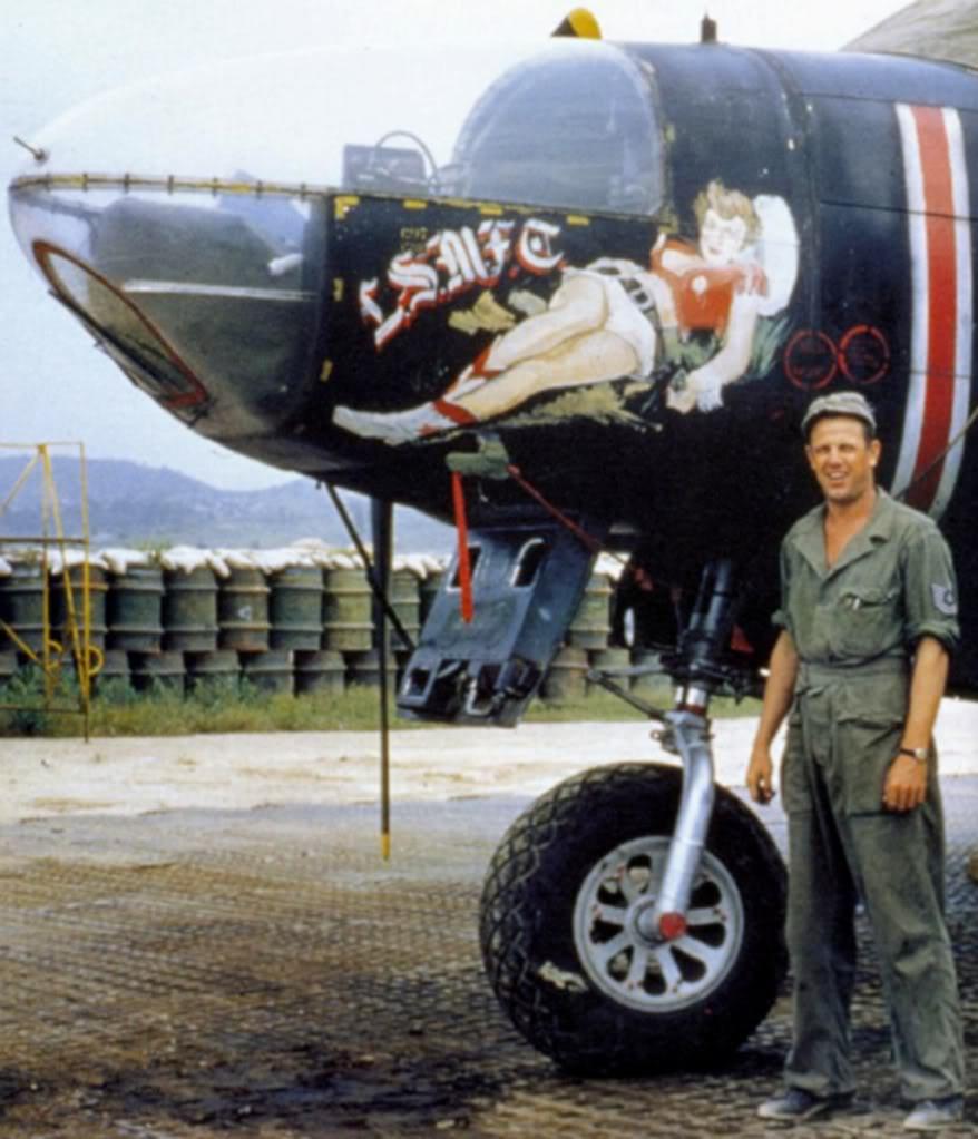 B-26-Invader-LSMFC-Korea