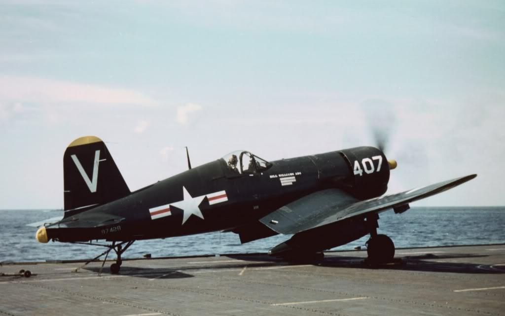 F4U-4B97428VF-114USSPhilippineSeaOffKoreaFEB1951