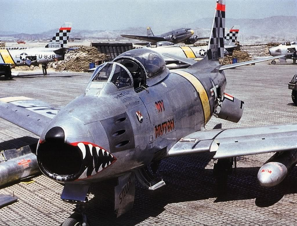 F86-MyHutch-51st-FIW-1953