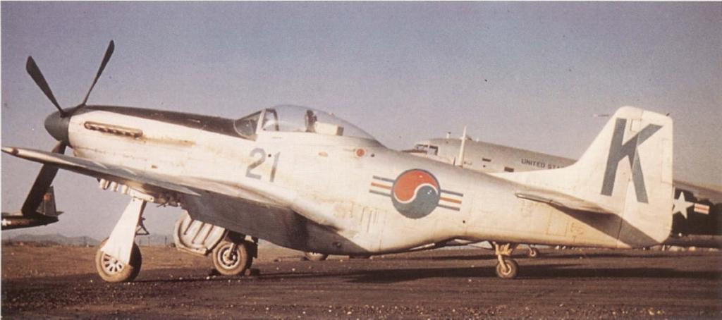 F-51DMustangK-21-Korea