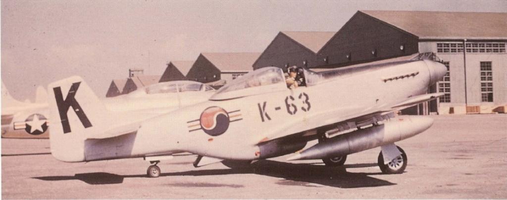 F-51DMustangK-63-Korea
