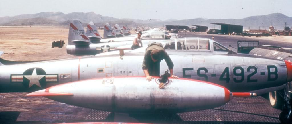 F-84E-Korea