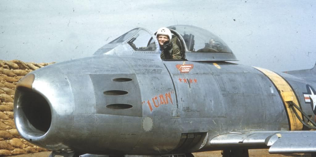 F-86E-CaptIvenCKincheloeJr-Korea