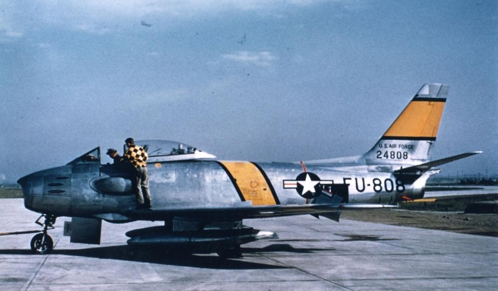 F-86F-30-NASabre52-4808-Korea