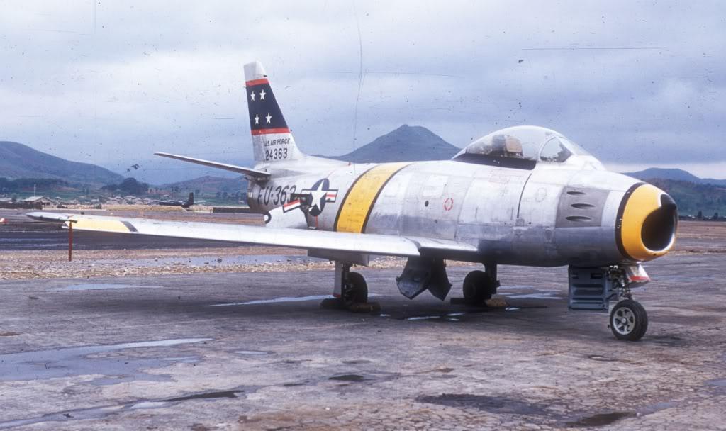 F-86F-Korea