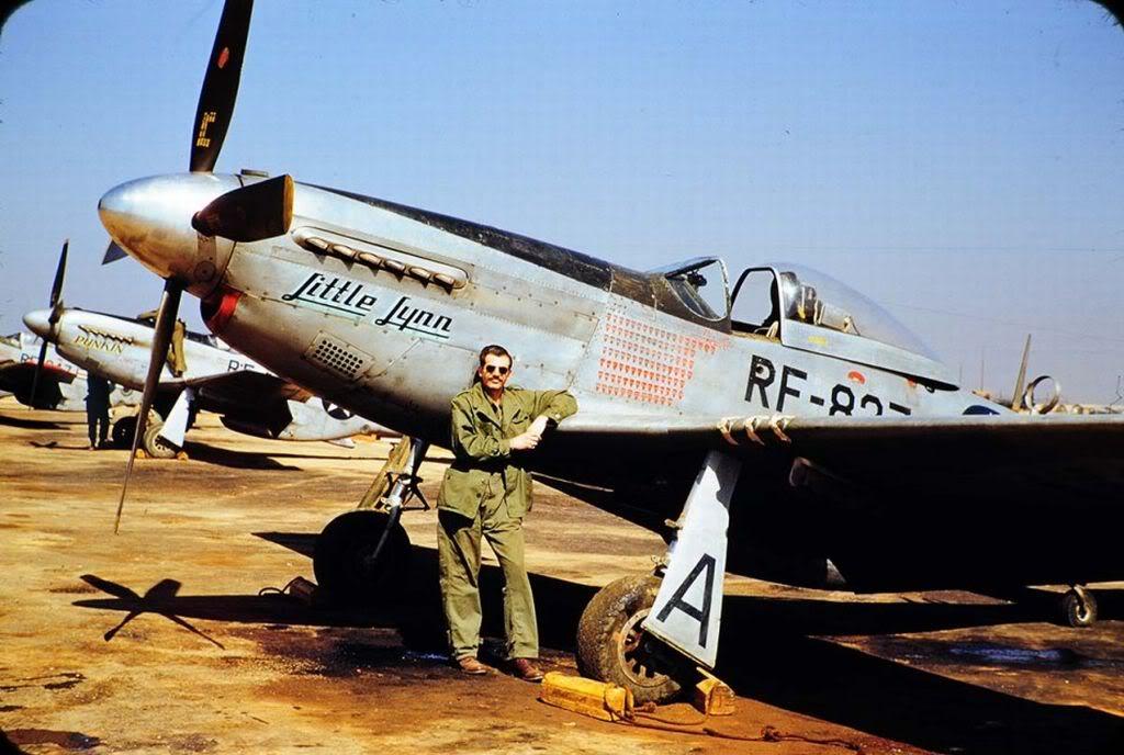RF-51LittleLynnof45thTacReconSquadronKimpoKorea1952-1