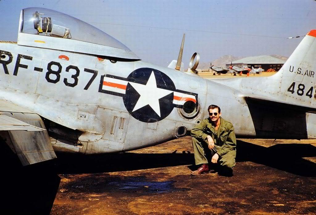 RF-51LittleLynnof45thTacReconSquadronKimpoKorea1952