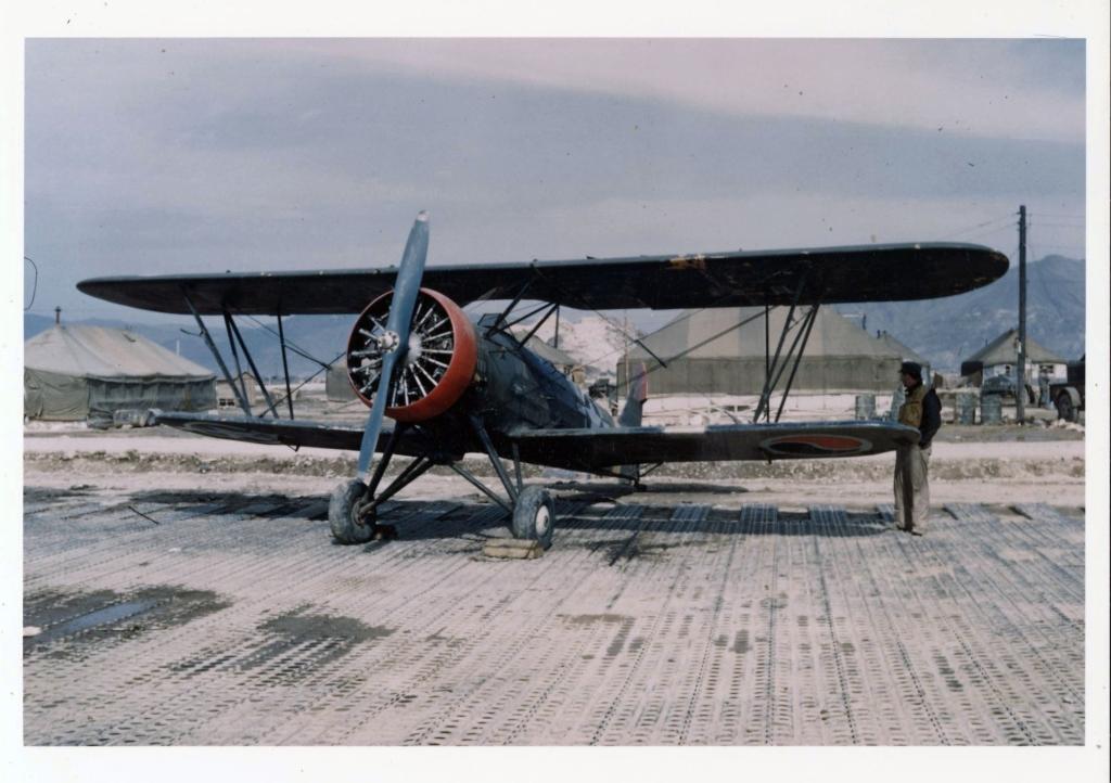 TachikawaKi-9SprucepicturedatairfieldK-1inSouthKoreaduring1951-1