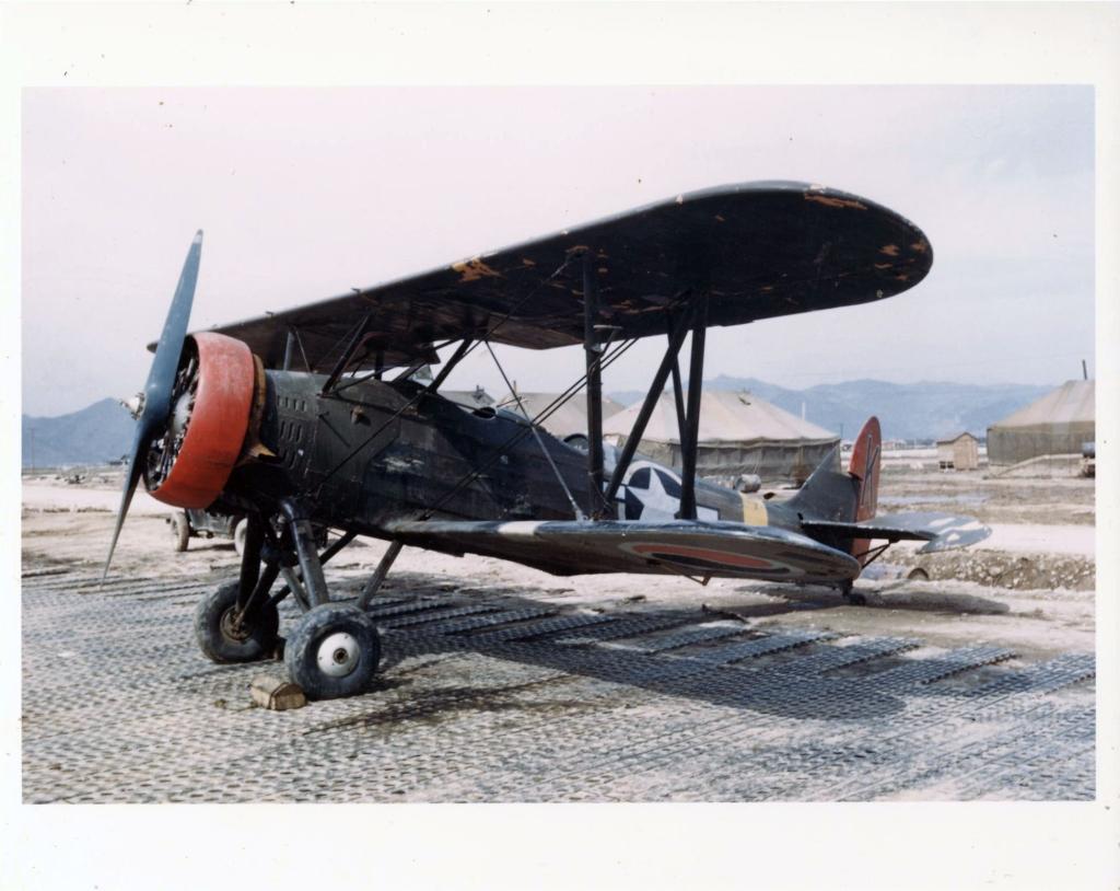 TachikawaKi-9SprucepicturedatairfieldK-1inSouthKoreaduring1951