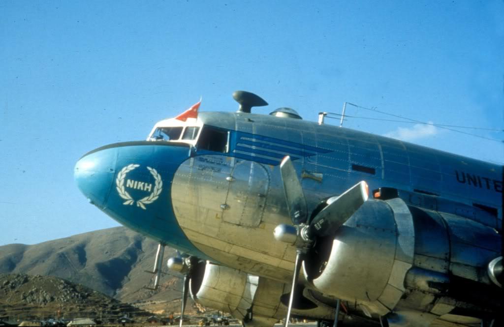 VC-47D-GenJamesVanFleets-Korea