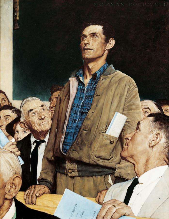rockwell-freedom of speech