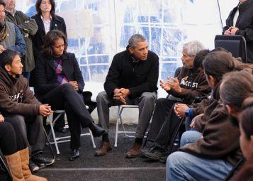 Обама и народ