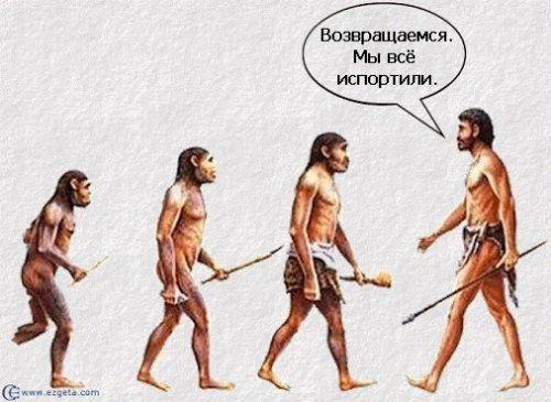 Эволюция - наглая ложь!