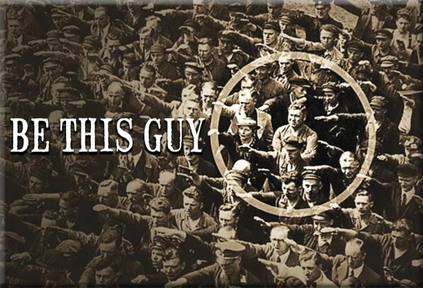 Бывает, что весь полк идет не в ногу, и только рядовой Иванов - в ногу!
