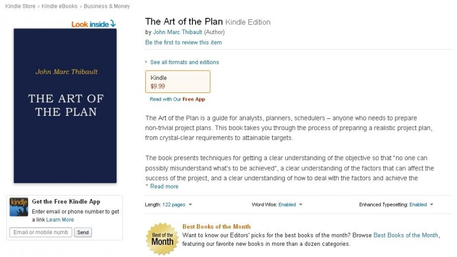 The Art of the Plan