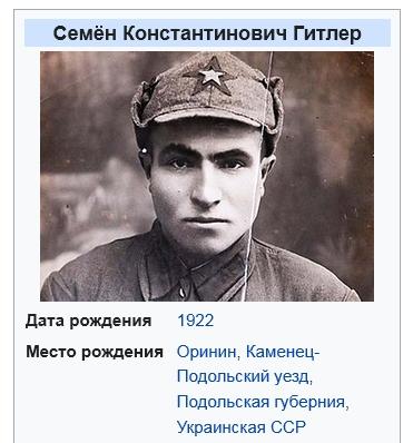 Семен Константинович Гитлер
