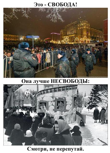 Новый Год: сейчас и в СССР