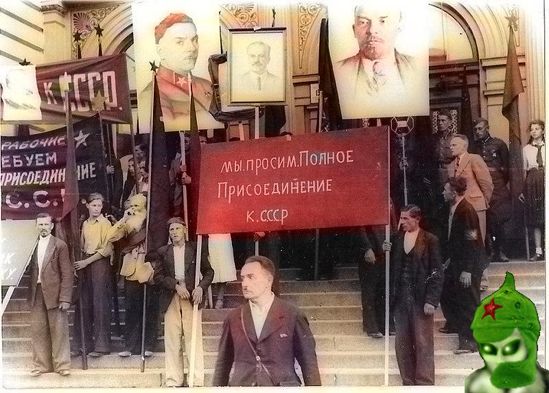 Литва за полное присоединение к СССР