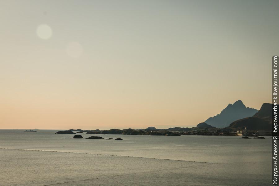 Красота Лофотенских островов -