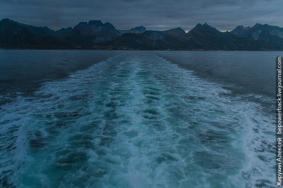 На пароме по океану -