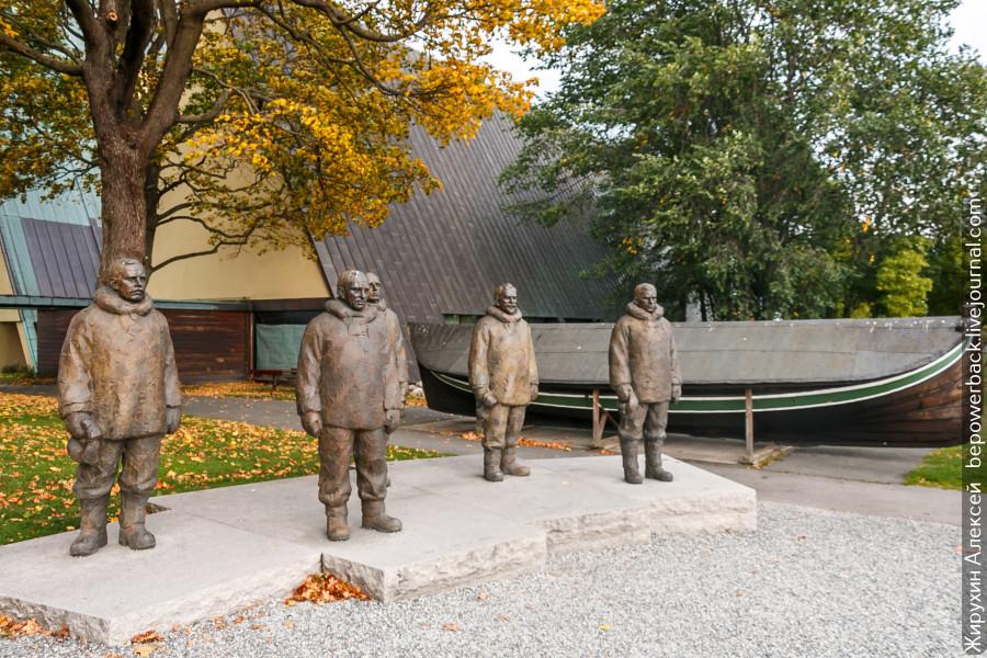 Морские музеи Бюгдей в Осло